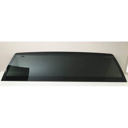 Dodge Ram Cat Back (For 2010-2018 Dodge Ram (1500 , 2500 , 350 ) & 2011-2017 Dodge Ram ( 4500 , 5500 ) Pickup Stationary Non-Heated Back Window Glass Replacement Dark)