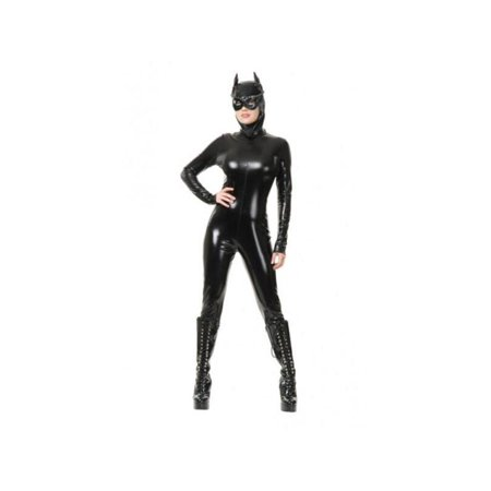Adult Velour Cat Suit Costume