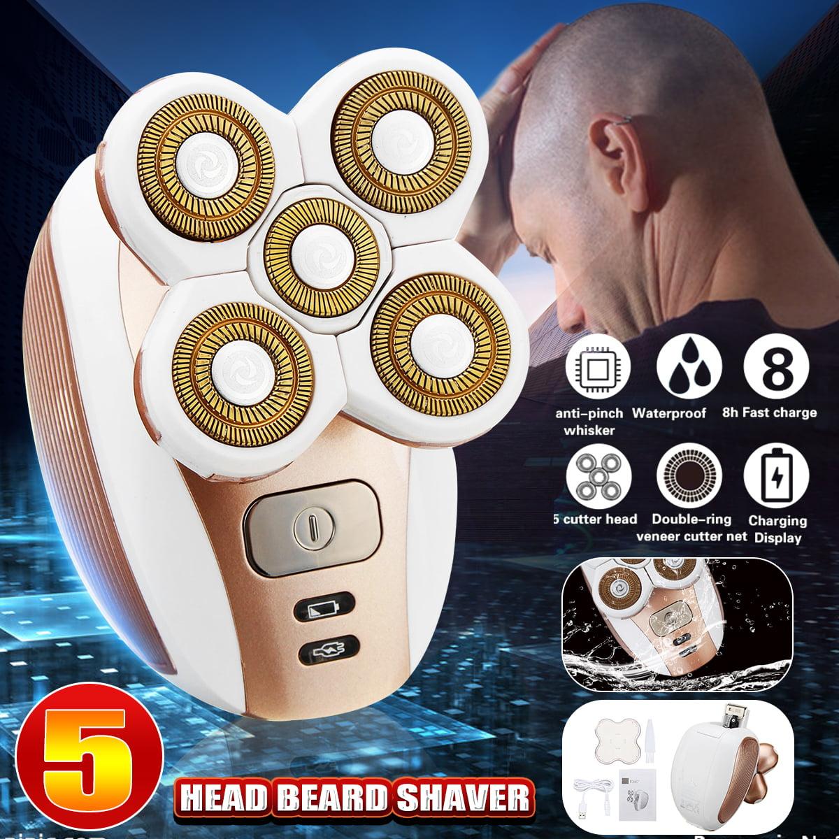 Waterproof 5 Head Electric Razor Shaver Bald Beard Hair Trimmer Eagle Remover Clipper Men /Women