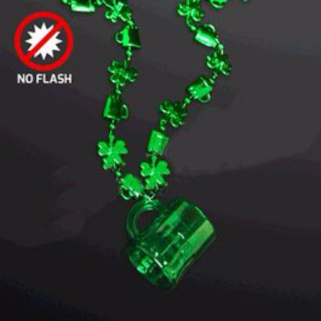 Shamrock Shot Glass Necklace Pack of 12](Shot Glass Necklaces)