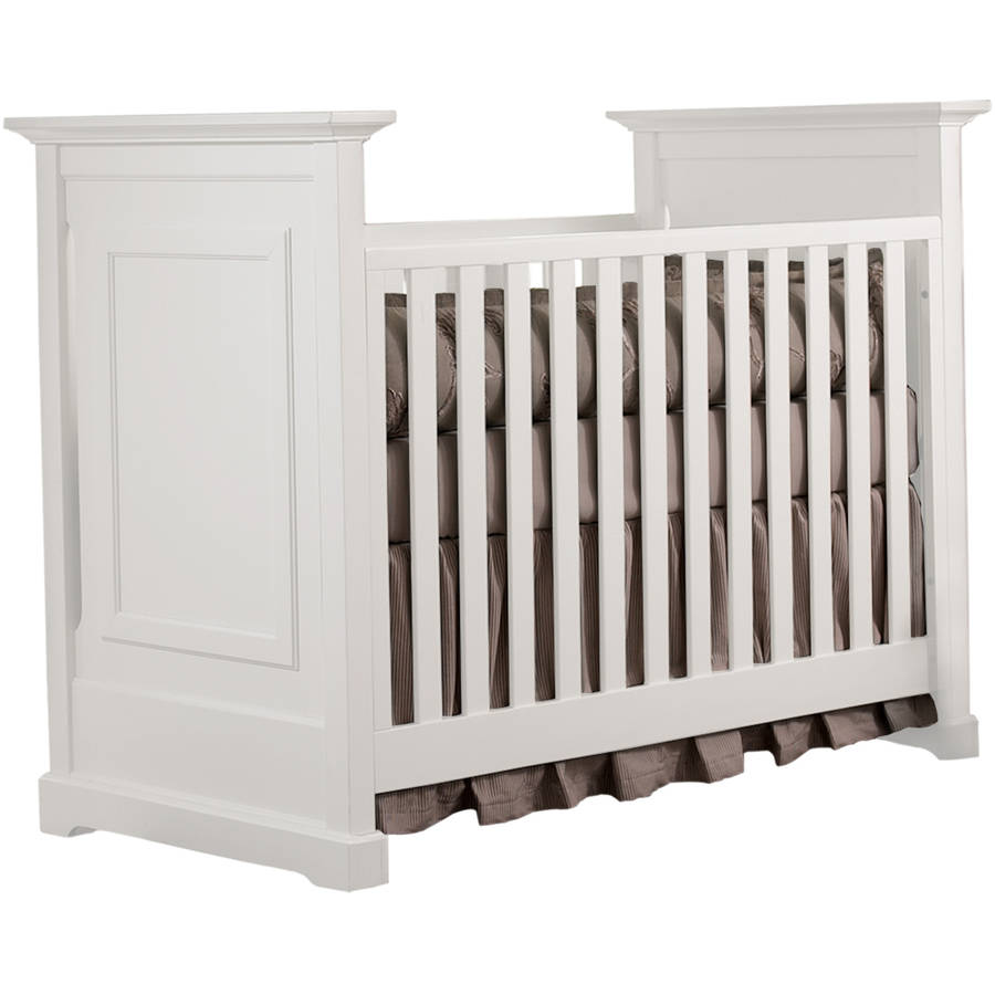 Centennial Chesapeake Classic 3-in-1 Convertible Crib White