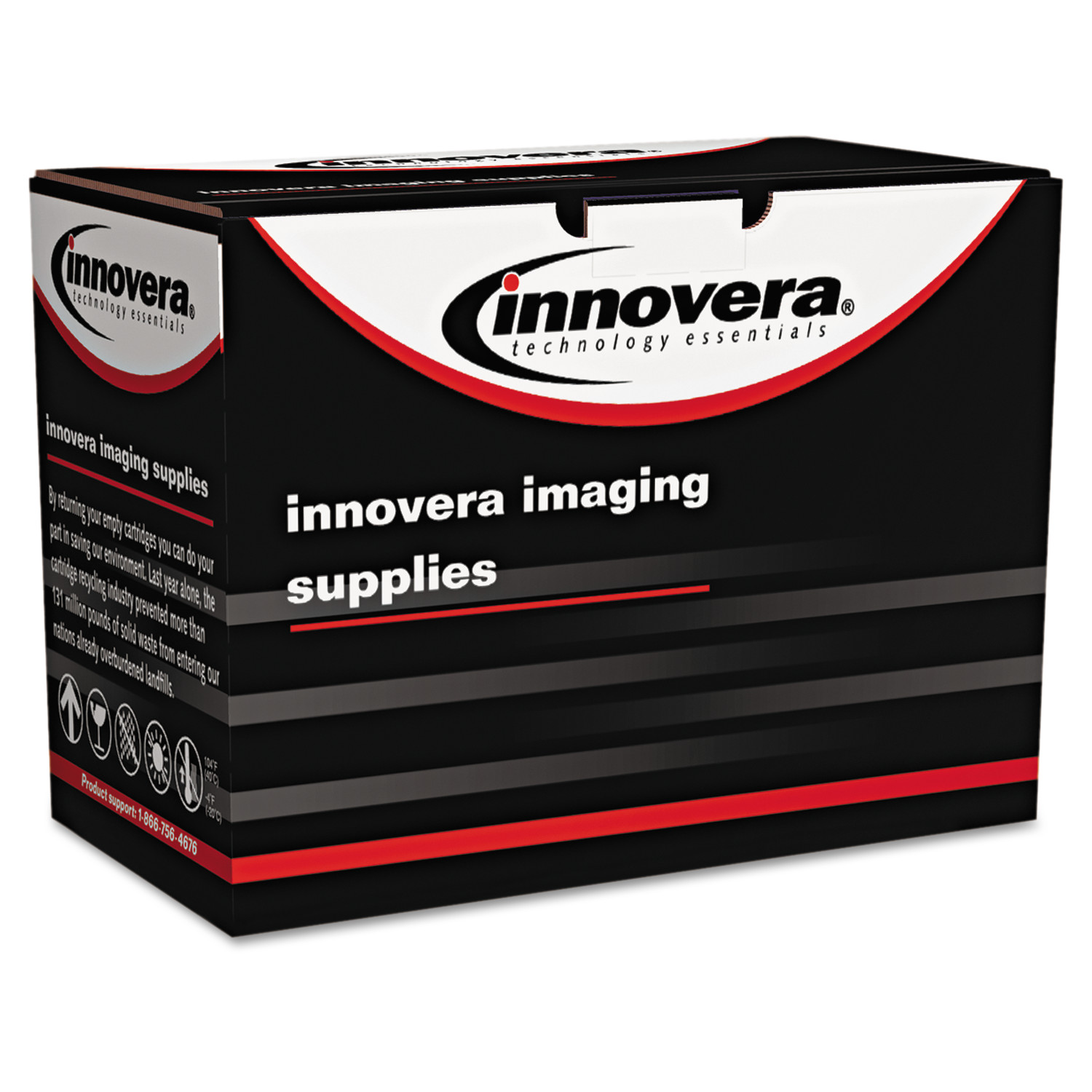 Innovera Remanufactured CF280A(M) (80AM) MICR Toner, Black