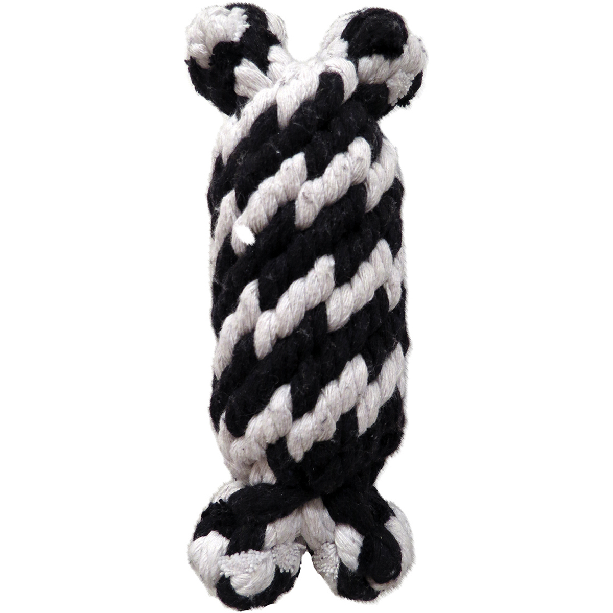 """Super Scooch Braided Rope Man With Squeaker Dog Toy 6.5""""-Small - image 1 de 1"""