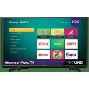 "Refurbished Hisense 43"" Class 4K (2160p) HDR Roku Smart TV"