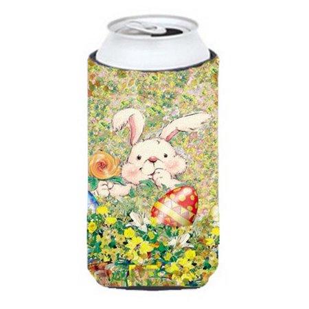 Easter Bunny & Eggs Tall Boy Can cooler Hugger - image 1 de 1