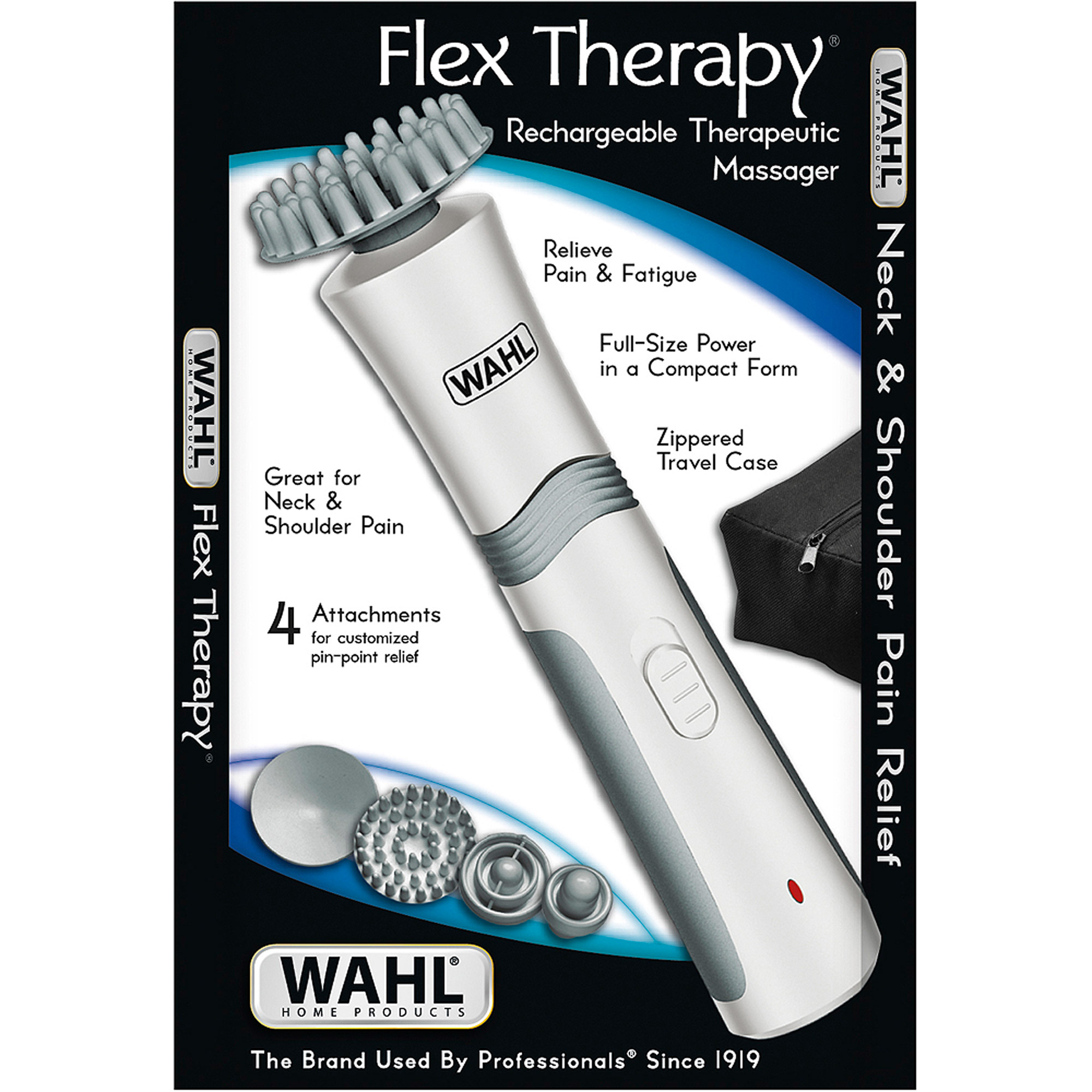 Wahl Flex Therapy Rechargeable Therapeutic Massager, 6 pc