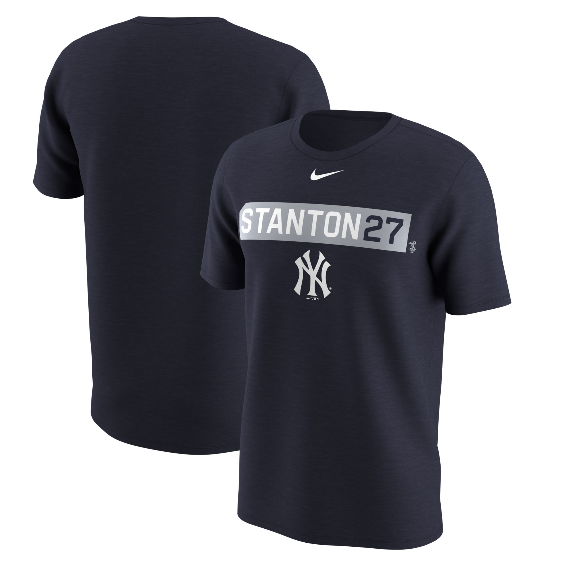 Giancarlo Stanton New York Yankees Nike Legend Player Name & Number Nickname Performance T-Shirt - Navy