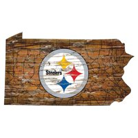 Fan Creations NFL Distressed State Sign With Logo