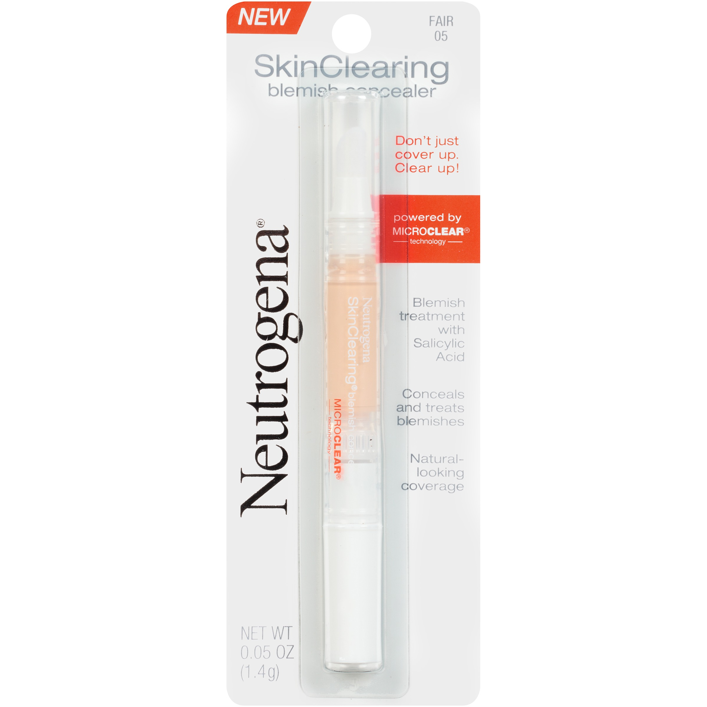 Neutrogena Skinclearing Blemish Concealer, Fair 05, .05 Oz