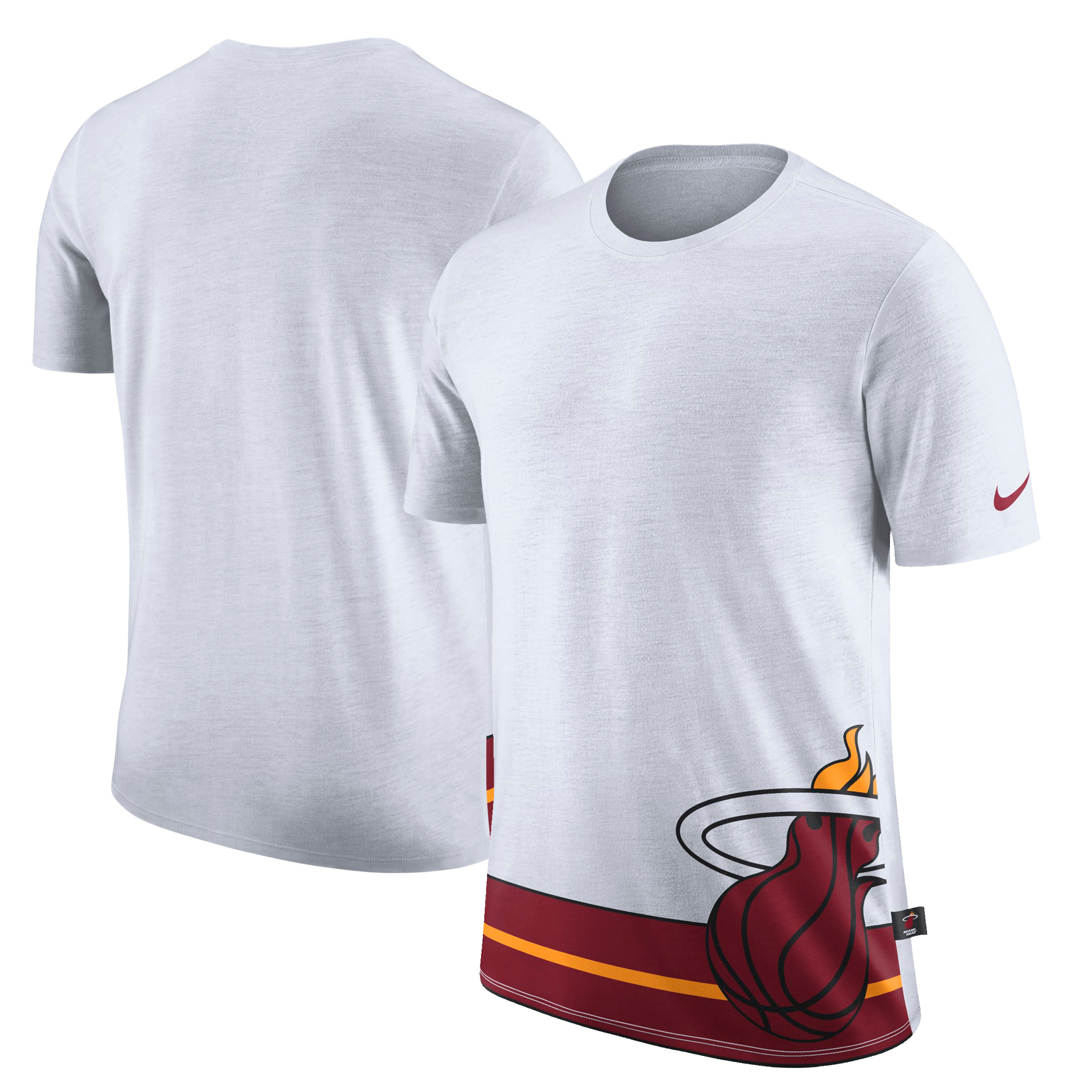 Miami Heat Nike DNA T-Shirt - White