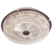 Broan Electric Radiant Ceiling Heater, Low Profile, Enclosed Sheathed, Aluminum, 120 Volt, 1250 Watts