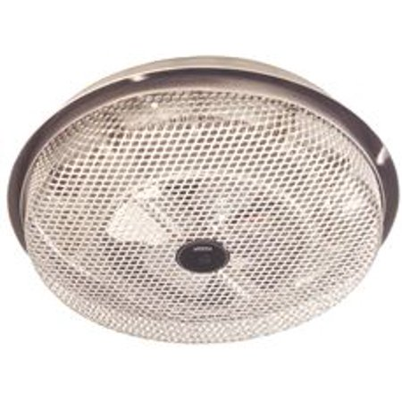 Broan Electric Radiant Ceiling Heater, Low Profile, Enclosed Sheathed, Aluminum, 120 Volt, 1250