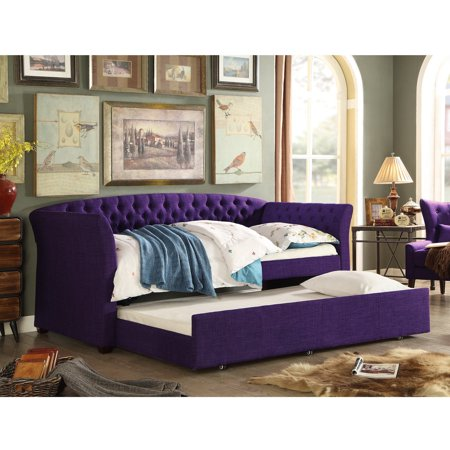 Rosevera Elsa Twin Size Daybed with Trundle