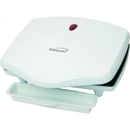 Brentwood Ts-610 Electric Grill - Indoor - White (ts610)