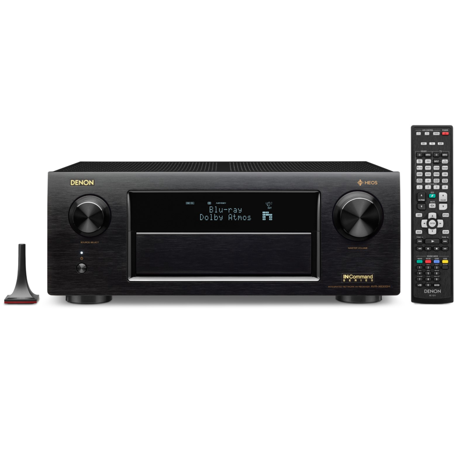 Denon AVR-X6300H 11.2-Channel Full 4K Ultra HD A V Receiver with Built-In HEOS Wireless Technology by Denon