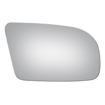 Fits 2009-2014 NISSAN MAXIMA PASS SIDE DROP FIT CONVEX REPLACEMENT MIRROR GLASS