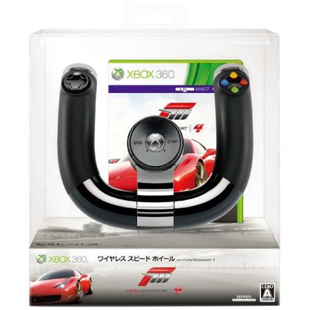 - Refurbished Xbox 360 Xbox 360 Wireless Speed Wheel Forza Motorsports 4