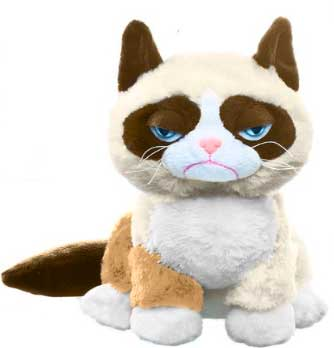 Grumpy Cat Plush [Sitting Up]
