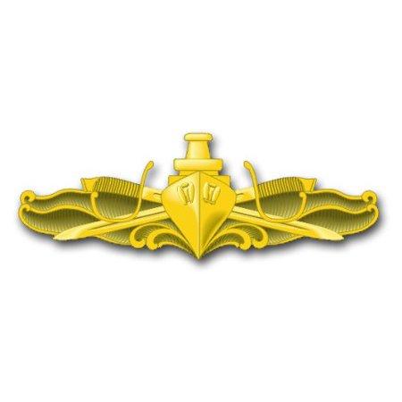 US Navy Surface Warfare Officer Decal Sticker 3.8