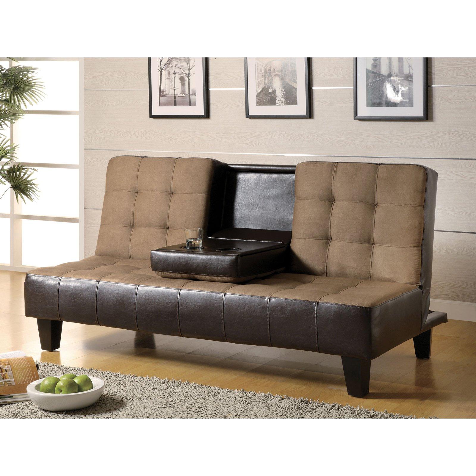 Coaster Kiln-Dried Sofa Bed, Brown