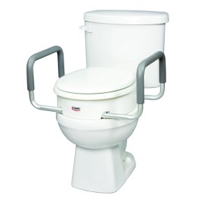 Fabulous Carex Raised Toilet Seat Elevator For Elongated Seats Adds 3 5 Inches To Toilet Height Spiritservingveterans Wood Chair Design Ideas Spiritservingveteransorg