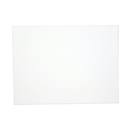 Sax Genuine Canvas Panel  White  9  X 12