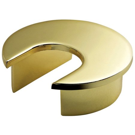 Round Metal Grommet - Bright brass By Rockler Woodworking and Hardware Ship from US ()