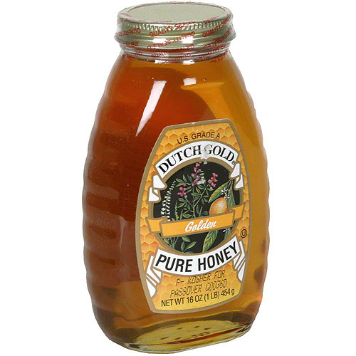 Dutch Gold Pure Golden Honey, 16 oz (Pack of 6) by Generic