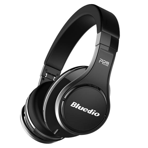 Bluedio Ufo Bluetooth Headphones Wireless Headsets 8 Drivers High End Black Walmart Com Walmart Com