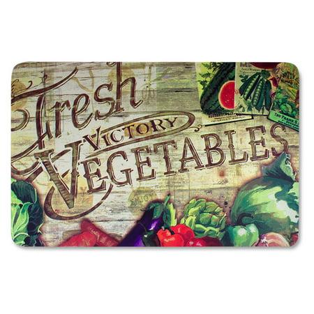 Anti Fatigue Kitchen Floor Mat, Fresh Vegetables (18\