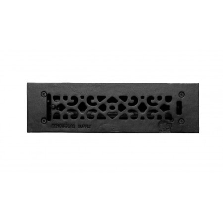 Floor Heat Register Louver Vent Cast 2 1/4 x10 Duct | ()