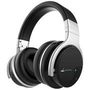 Meidong Bluetooth Noise-Canceling Over-Ear Headphones, Black, E7B
