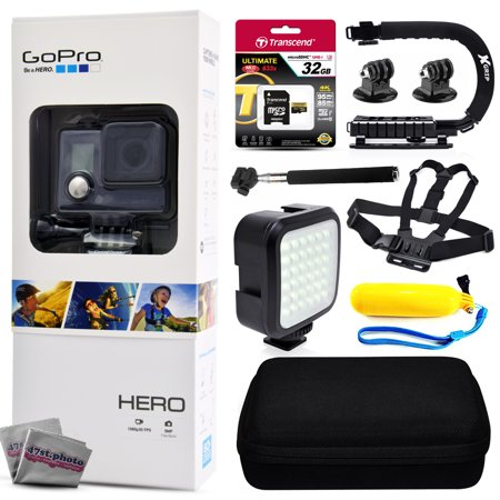 gopro hero action camera chdha 301 with 32gb ultra memory premium case opteka x grip. Black Bedroom Furniture Sets. Home Design Ideas