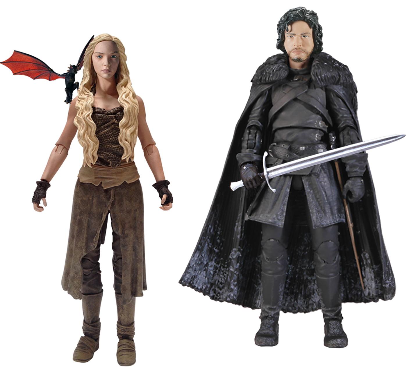 "Game of Thrones Funko 6"" Legacy Action Figure Bundle: Daenerys & Jon Snow"