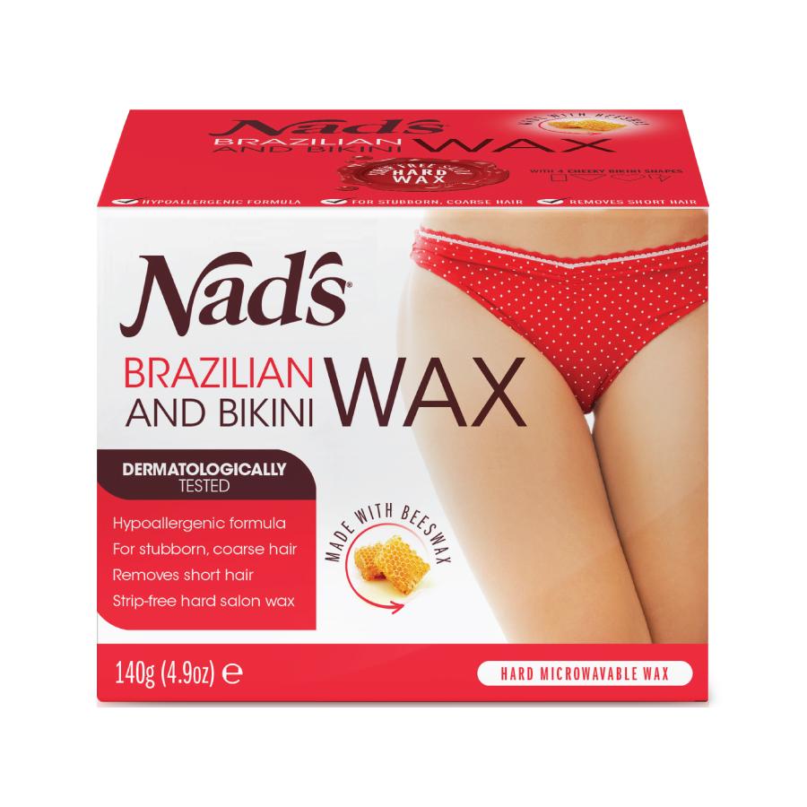 Nad's Brazilian and Bikini Wax, 4.9 oz