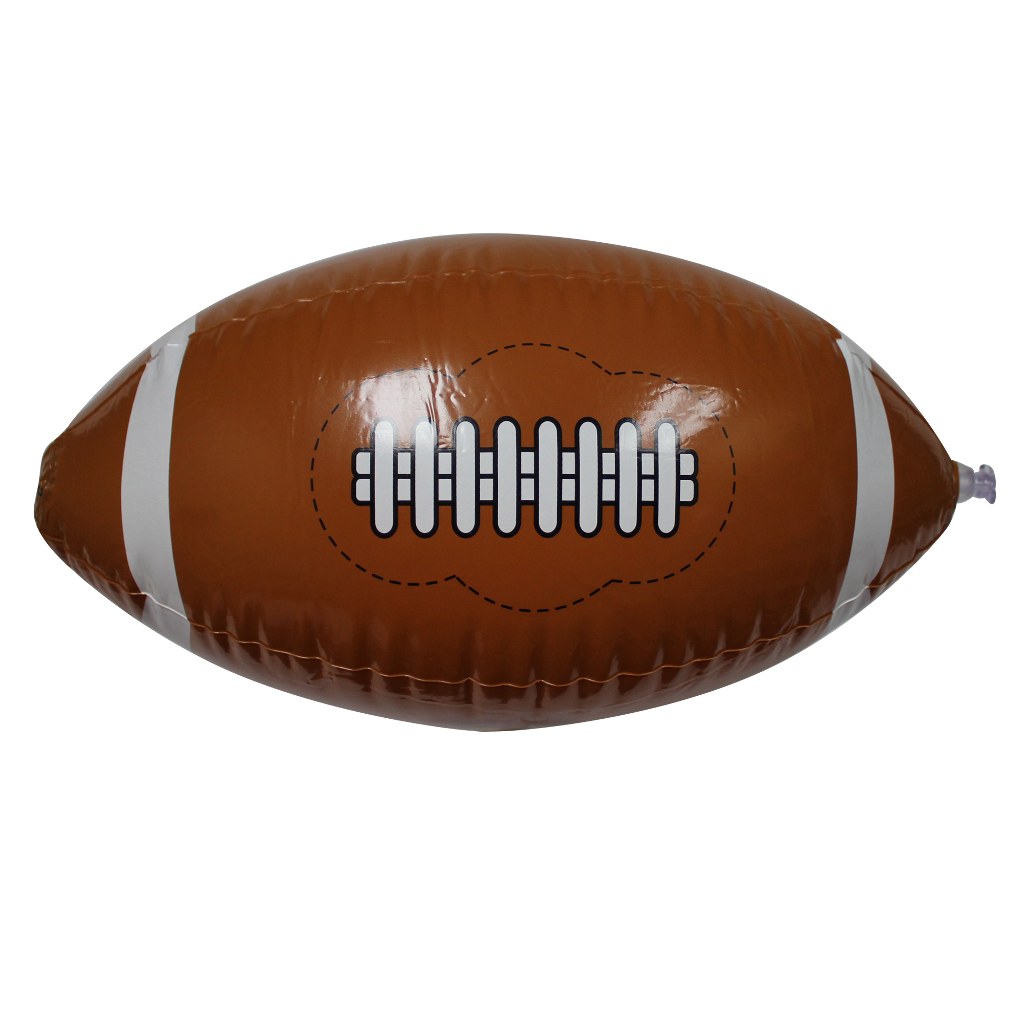 16 Inch Inflatable Football Beach Ball 12pc by