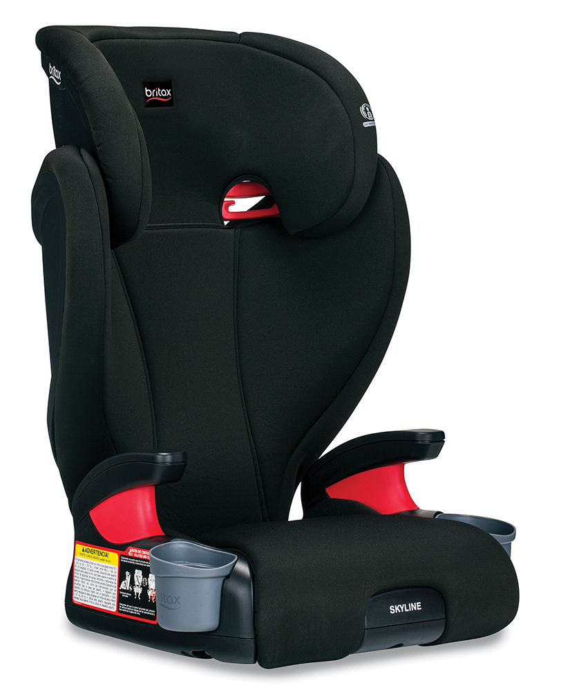 Britax Skyline High Back Belt-Positioning Booster Seat, Dusk by Britax
