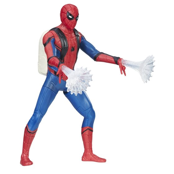 e5b04aea7fc27 Spider-Man Homecoming Spider-Man 6-Inch Feature Figure - Walmart.com