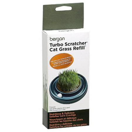 - Bergan; Turbo Scratcher & Star Chaser Cat Grass Refill