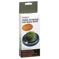 Bergan; Turbo Scratcher & Star Chaser Cat Grass Refill