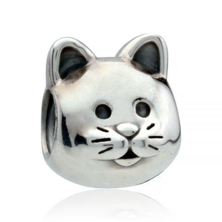 69f93f528 PANDORA - Authentic 791706 Curious Cat Charm - Walmart.com