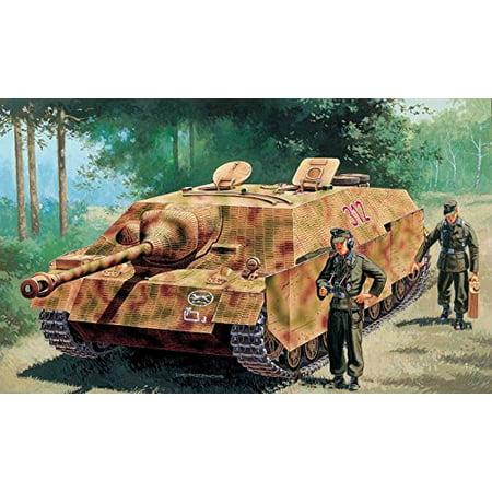Jagdpanzer IV Ausf F SdKfz 162 Tank 2 Figures 1/72 Italeri
