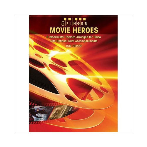 Alfred 00-32009 5 Finger Movie Heroes - Music Book