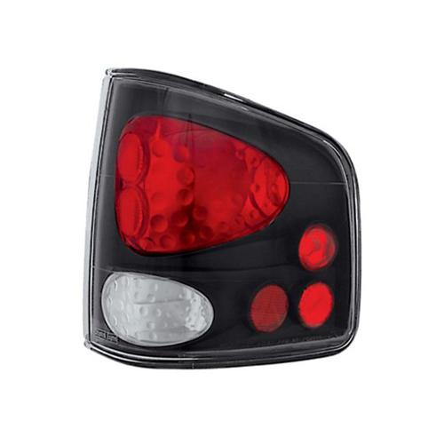 Pair IPCW CWT-CE405CB Crystal Eyes Bermuda Black Tail Lamp