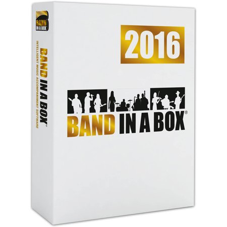 Band in a Box® Pro Intelligent Music Accompaniment Software