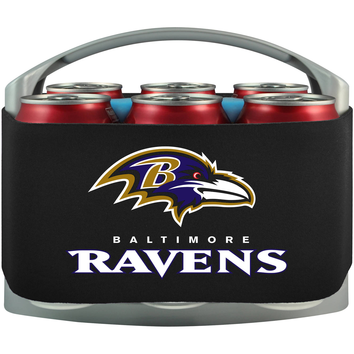 NFL Baltimore Ravens Cool 6 Cooler