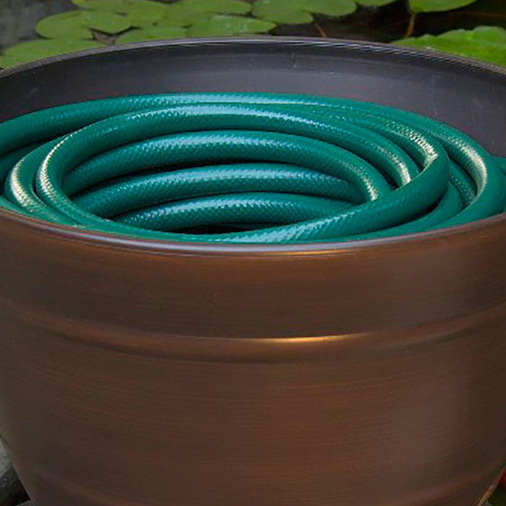 Liberty Garden LBG1924 Banded High Density Resin Hose Holder Pot ...