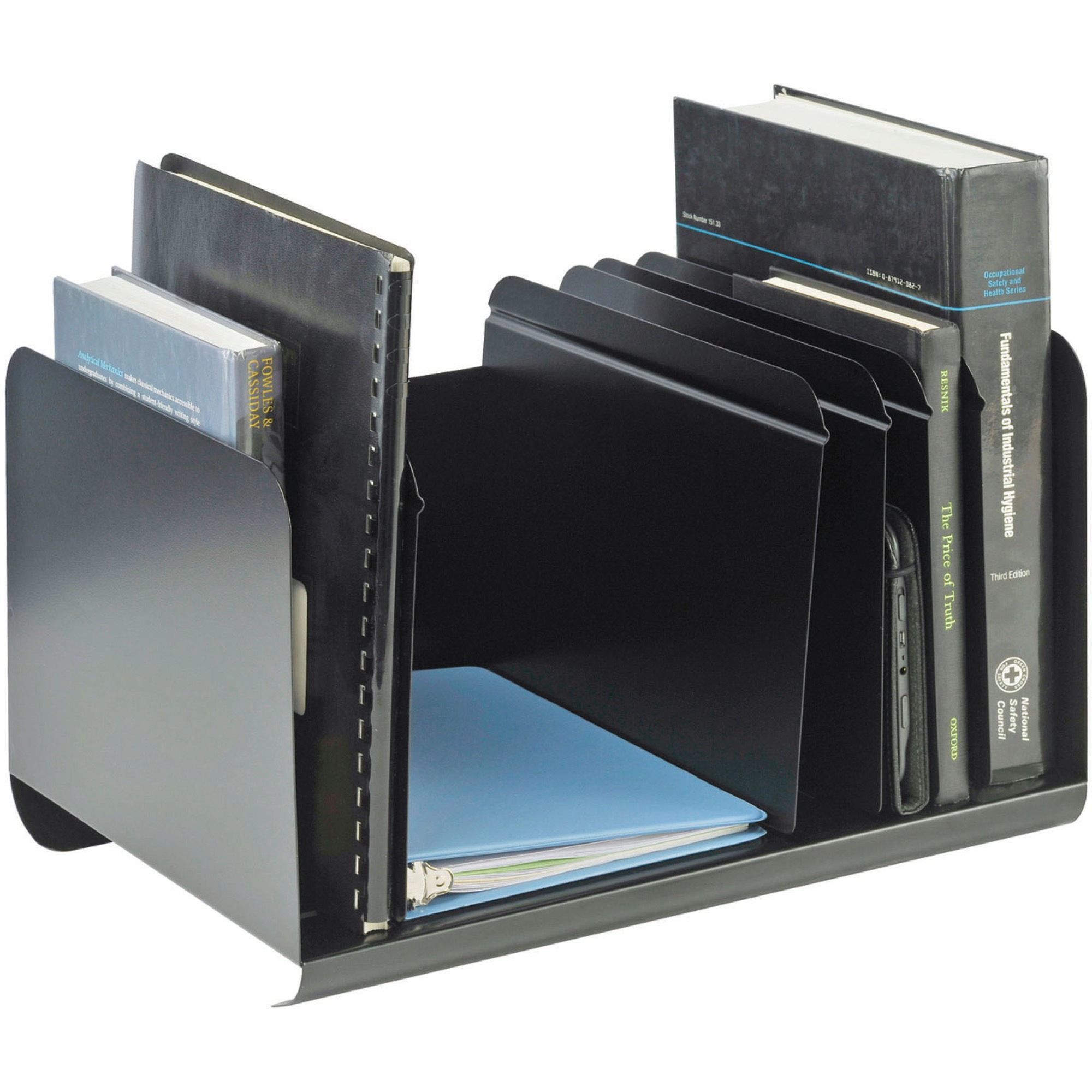 MMF Adjustable Dividers Book Rack by MMF INDUSTRIES
