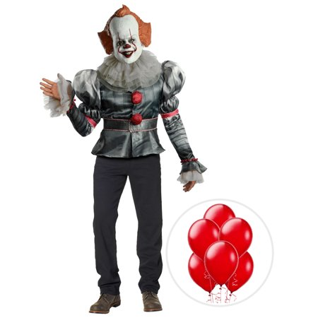Pennywise Clown Costume Sale (IT Pennywise Clown Deluxe Costume Kit Plus with)