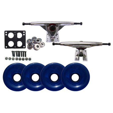 LONGBOARD Skateboard 180mm TRUCKS 76mm WHEEL Package
